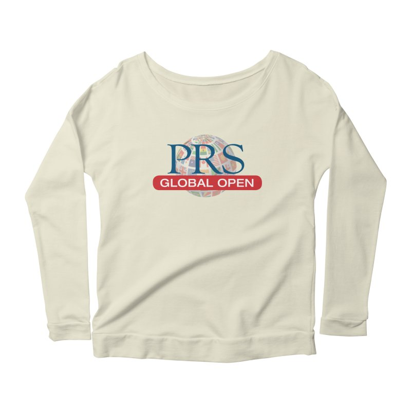 PRS Global Open Logo Women's Longsleeve Scoopneck  by ThePRSJournals's Artist Shop