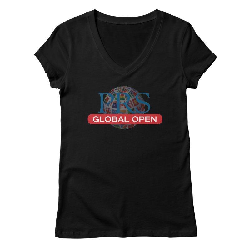 PRS Global Open Logo Women's V-Neck by ThePRSJournals's Artist Shop