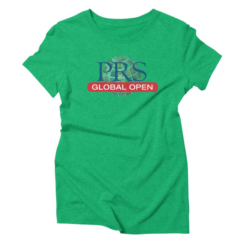 PRS Global Open Logo Women's Triblend T-Shirt by ThePRSJournals's Artist Shop