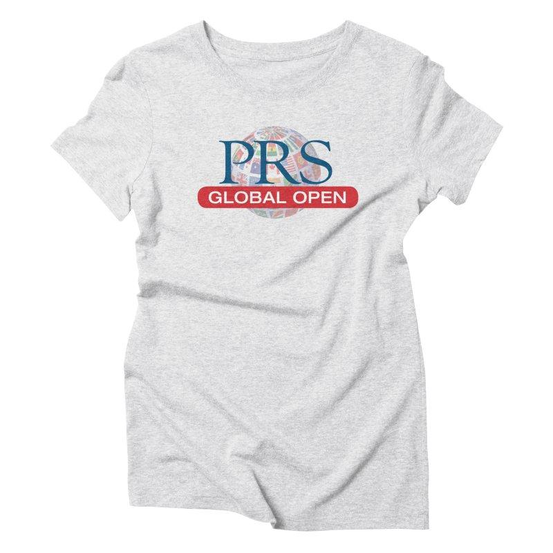 PRS Global Open Logo Women's Triblend T-shirt by ThePRSJournals's Artist Shop