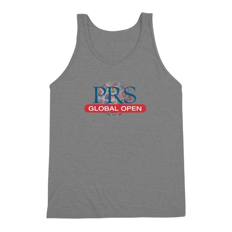 PRS Global Open Logo Men's Triblend Tank by ThePRSJournals's Artist Shop