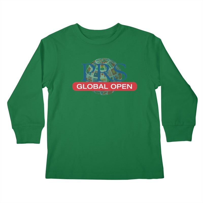 PRS Global Open Logo Kids Longsleeve T-Shirt by ThePRSJournals's Artist Shop