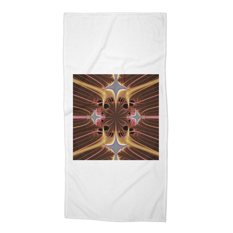Iris Accessories Beach Towel by TheParadoxVoid's Artist Shop