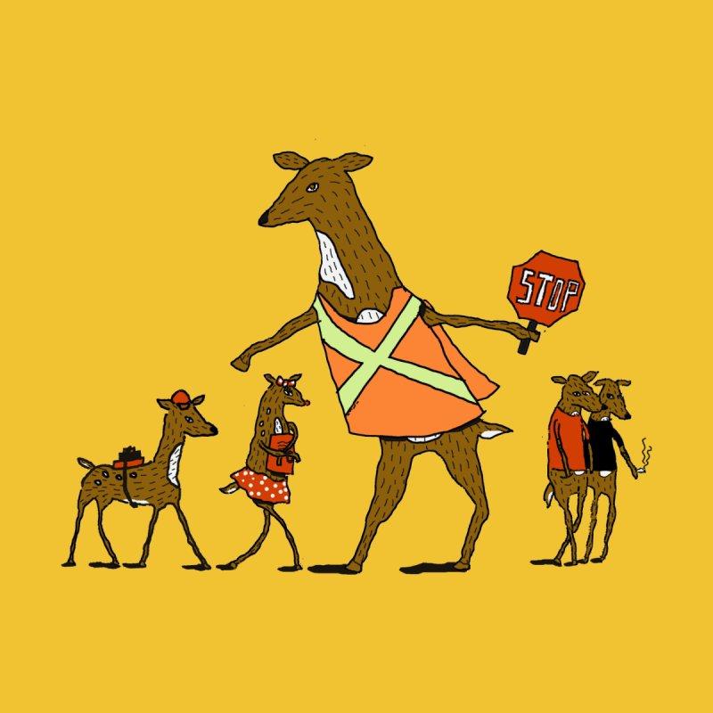 Deer Crossing! by Canadianbeaver