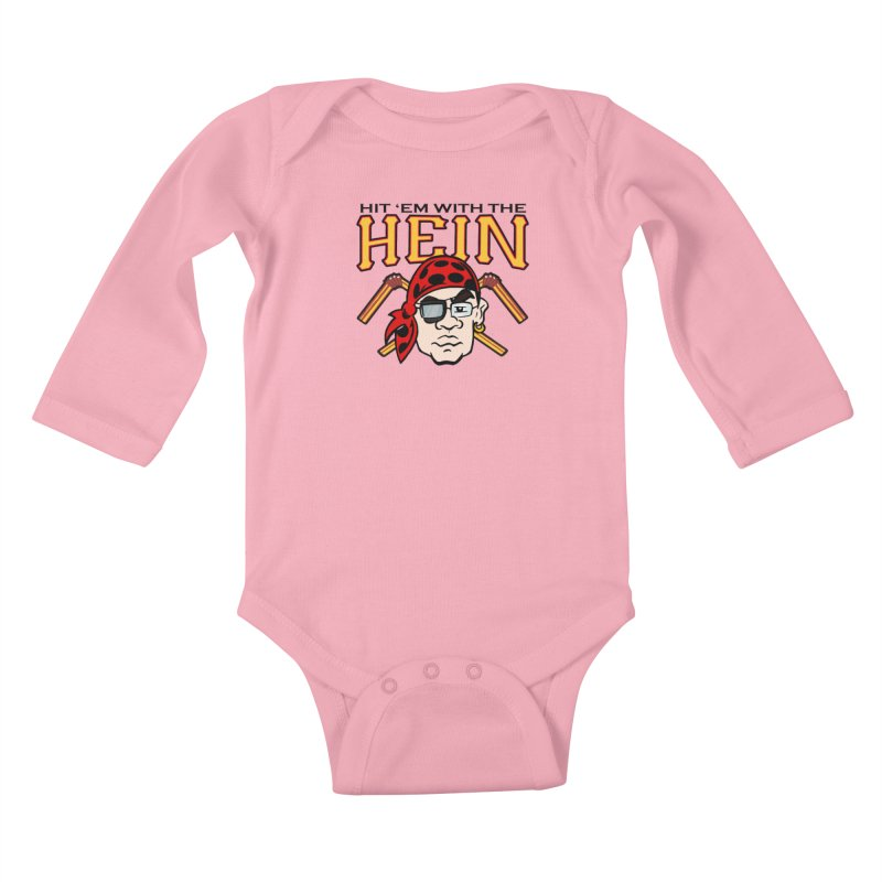 Hit Em With The Hein 3 Kids Baby Longsleeve Bodysuit by The Phantom's T-Shirt Shop