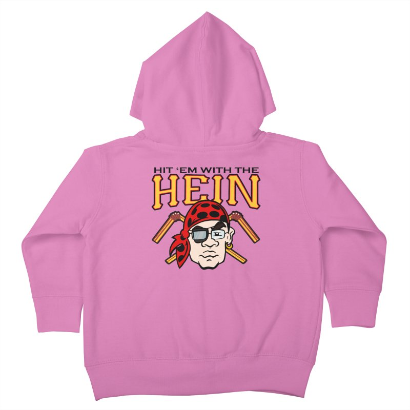 Hit Em With The Hein 3 Kids Toddler Zip-Up Hoody by The Phantom's T-Shirt Shop