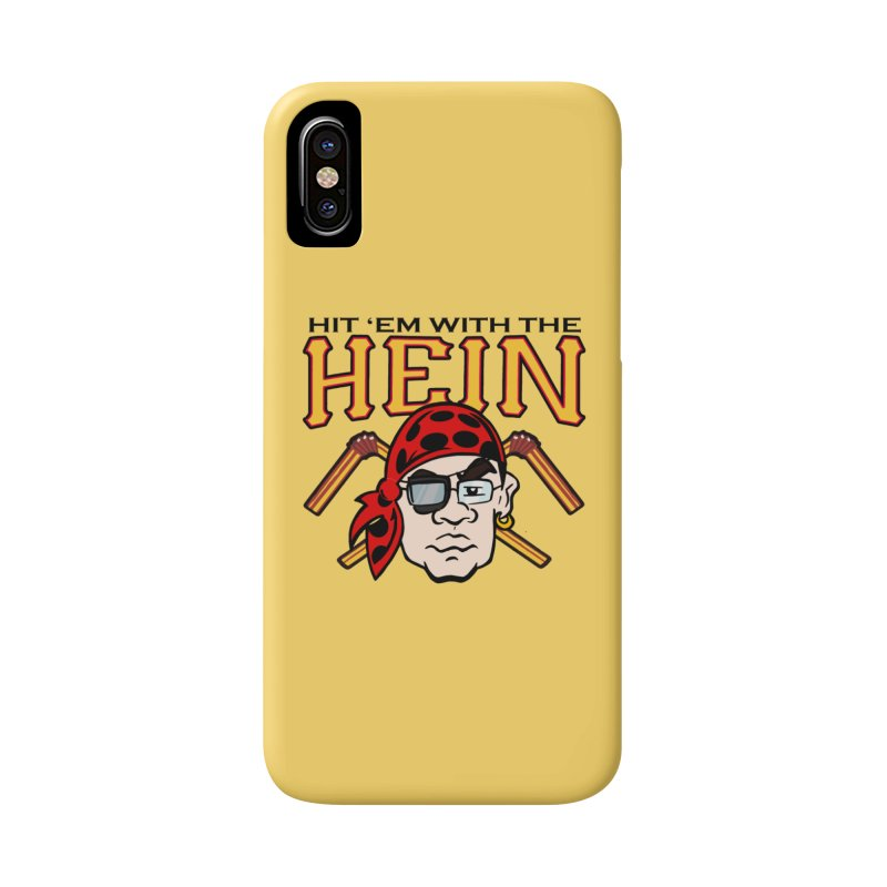 Hit Em With The Hein 3 Accessories Phone Case by The Phantom's T-Shirt Shop