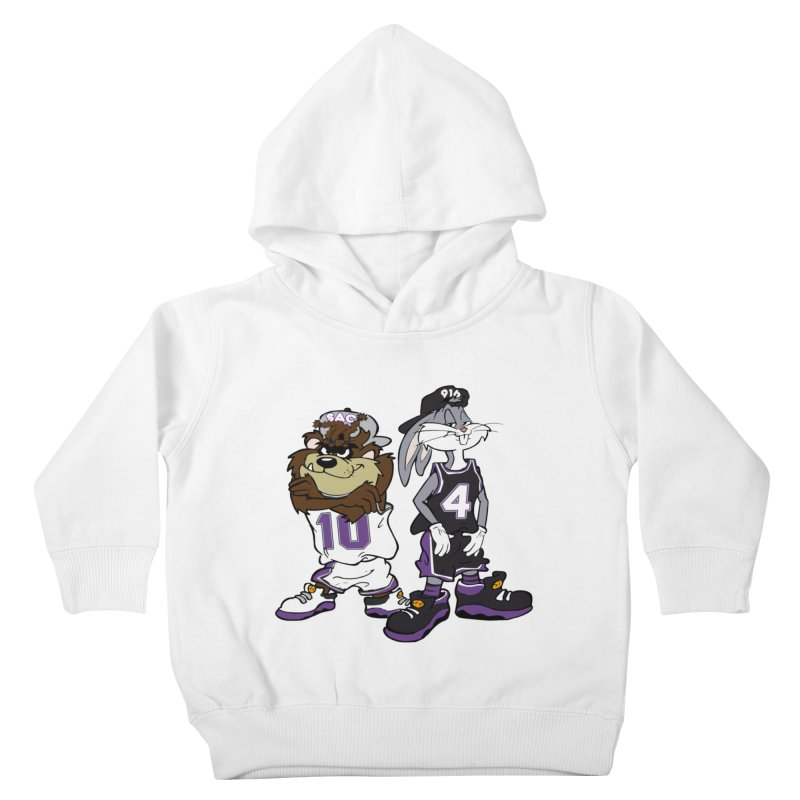 Old School Sac Toons Kids Toddler Pullover Hoody by The Phantom's T-Shirt Shop