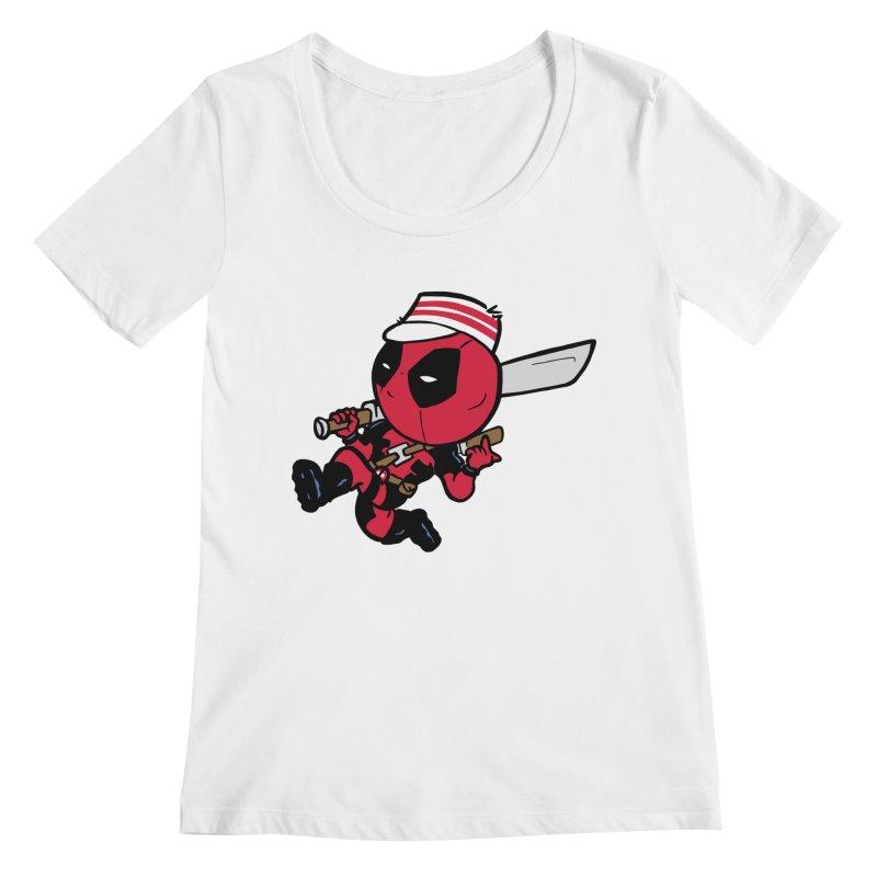 Cincinnati Deads Women's Scoopneck by The Phantom's T-Shirt Shop