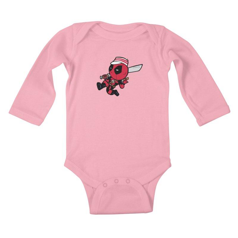 Cincinnati Deads Kids Baby Longsleeve Bodysuit by The Phantom's T-Shirt Shop