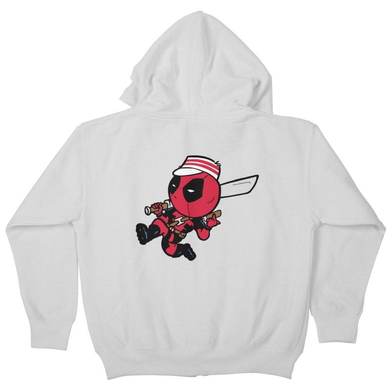 Cincinnati Deads Kids Zip-Up Hoody by The Phantom's T-Shirt Shop
