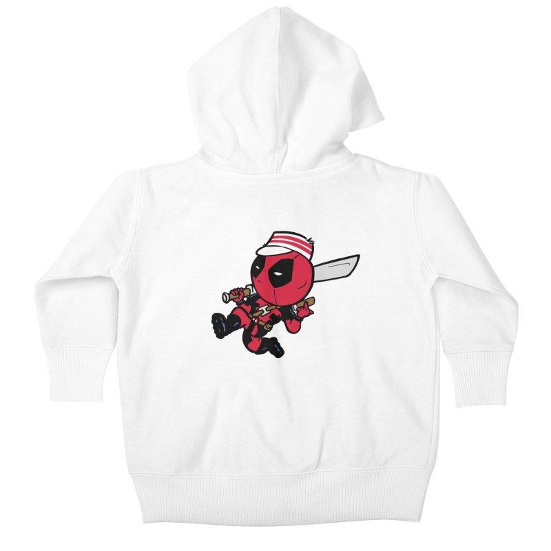 Cincinnati Deads Kids Baby Zip-Up Hoody by The Phantom's T-Shirt Shop