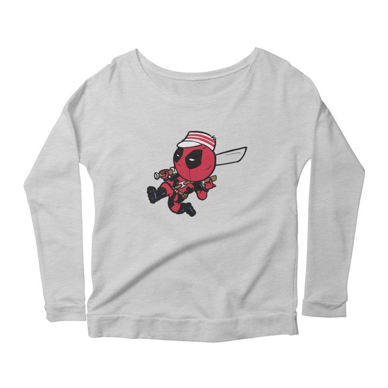 Cincinnati Deads Women's Longsleeve Scoopneck  by The Phantom's T-Shirt Shop