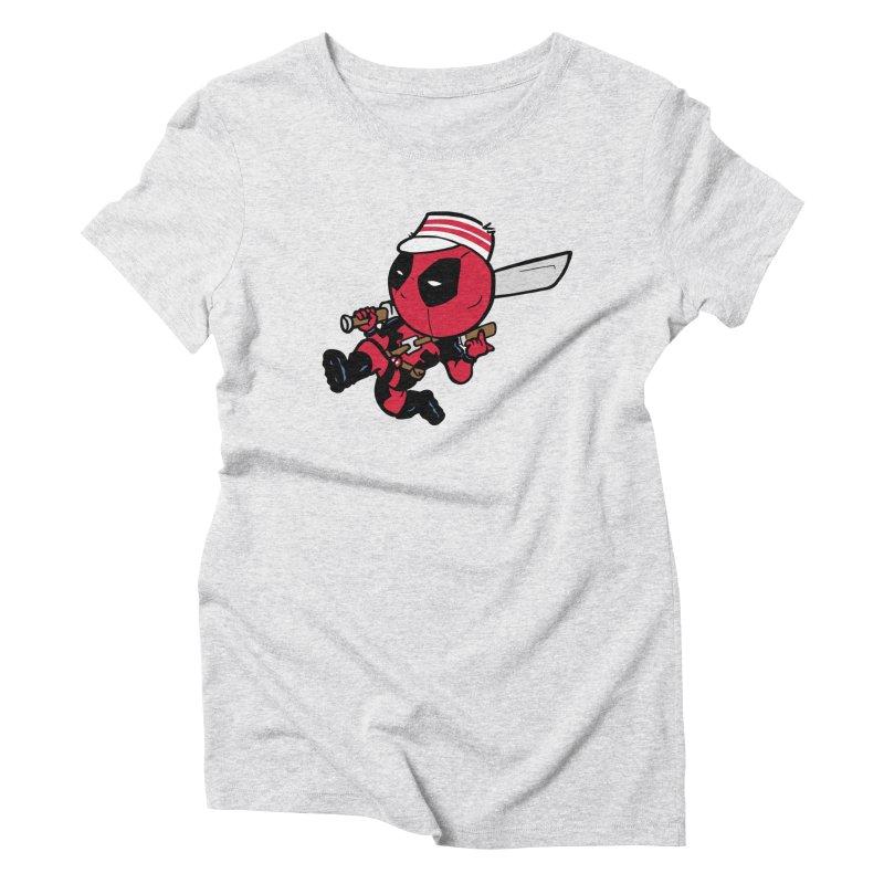 Cincinnati Deads Women's Triblend T-Shirt by The Phantom's T-Shirt Shop