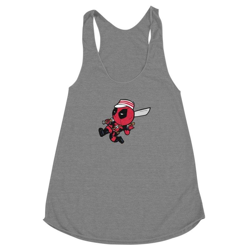 Cincinnati Deads Women's Racerback Triblend Tank by The Phantom's T-Shirt Shop