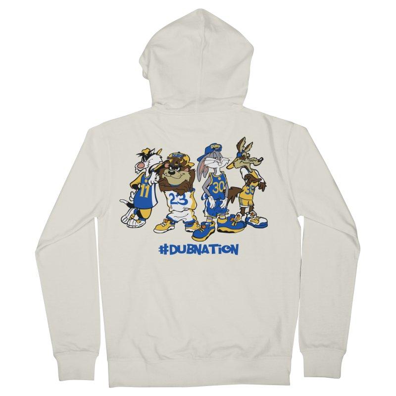 Dub Nation Toon Squad Men's Zip-Up Hoody by The Phantom's T-Shirt Shop