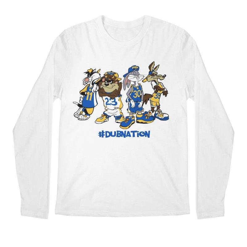 Dub Nation Toon Squad Men's Longsleeve T-Shirt by The Phantom's T-Shirt Shop