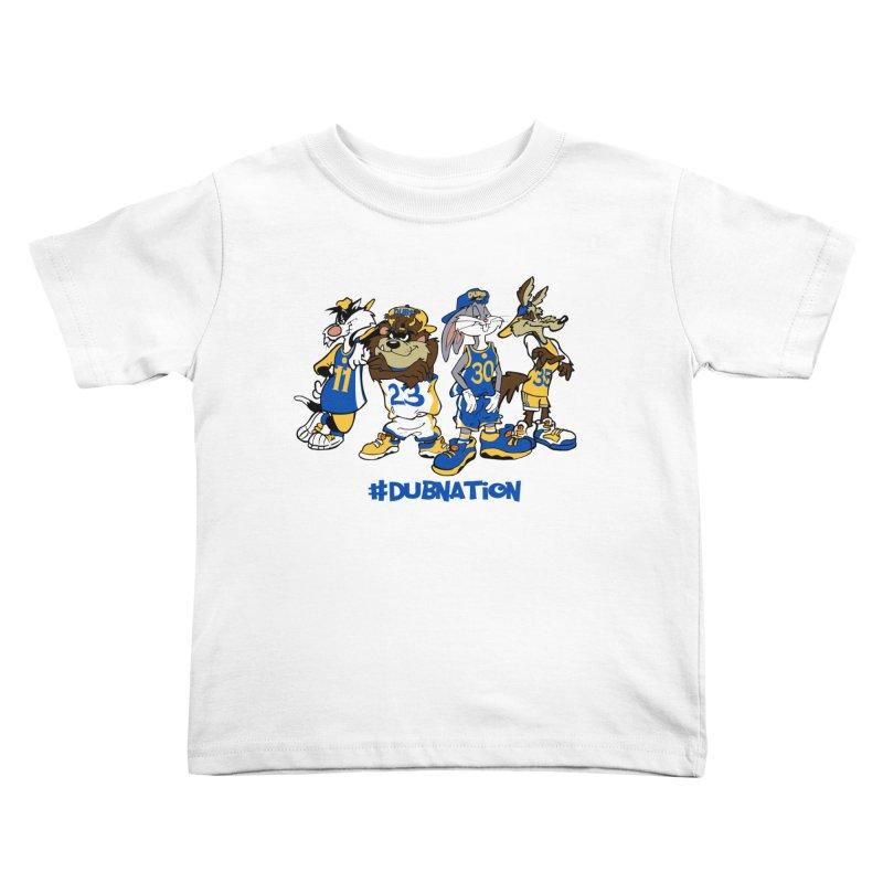 Dub Nation Toon Squad Kids Toddler T-Shirt by The Phantom's T-Shirt Shop