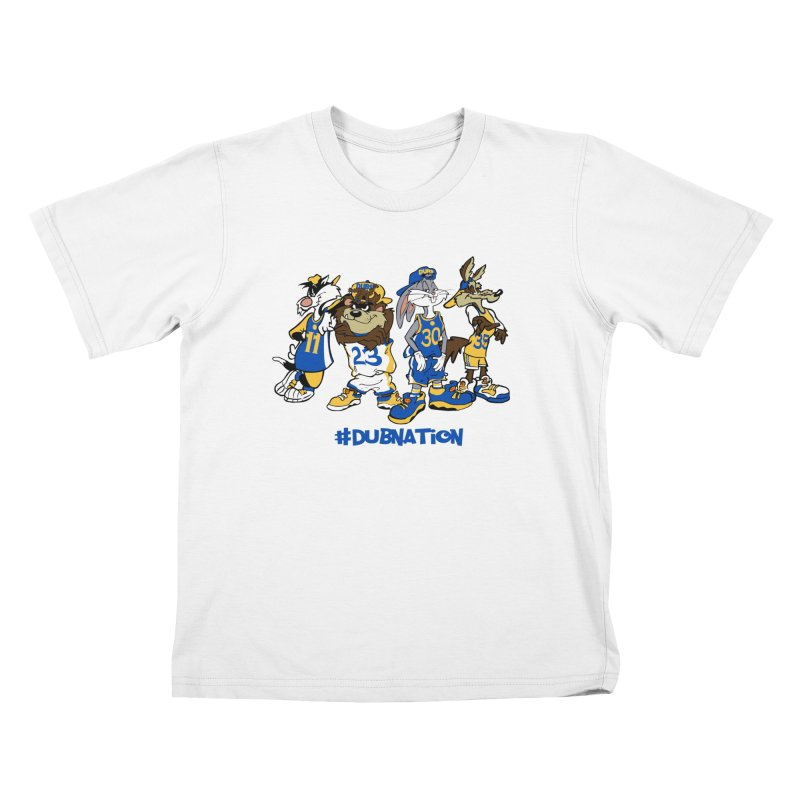 Dub Nation Toon Squad Kids T-Shirt by The Phantom's T-Shirt Shop