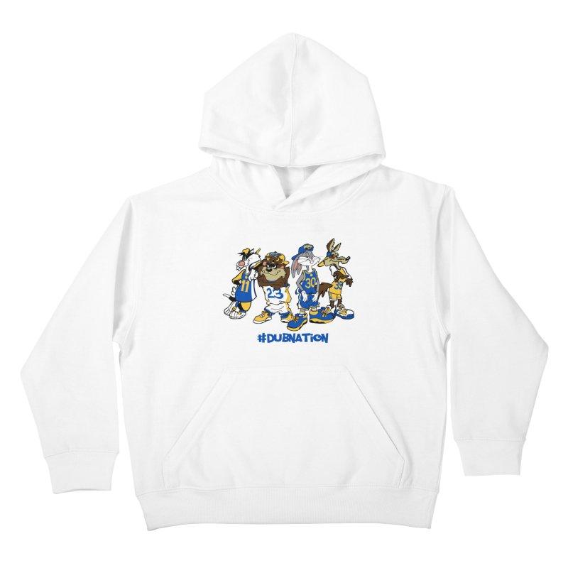 Dub Nation Toon Squad Kids Pullover Hoody by The Phantom's T-Shirt Shop