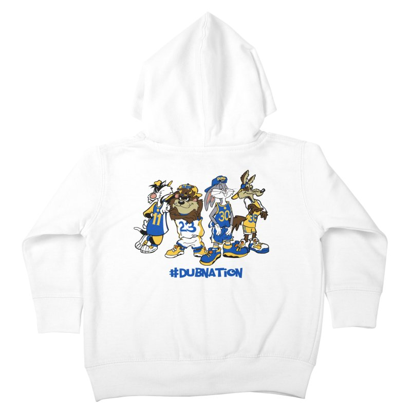 Dub Nation Toon Squad Kids Toddler Zip-Up Hoody by The Phantom's T-Shirt Shop