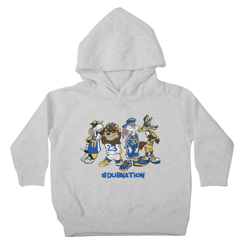 Dub Nation Toon Squad Kids Toddler Pullover Hoody by The Phantom's T-Shirt Shop