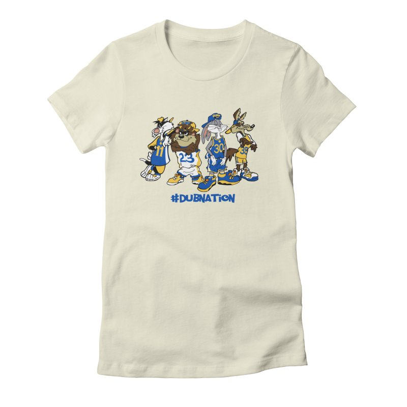 Dub Nation Toon Squad Women's Fitted T-Shirt by The Phantom's T-Shirt Shop