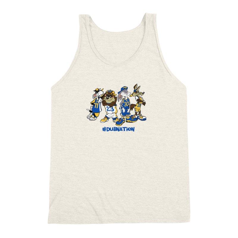 Dub Nation Toon Squad Men's Triblend Tank by The Phantom's T-Shirt Shop