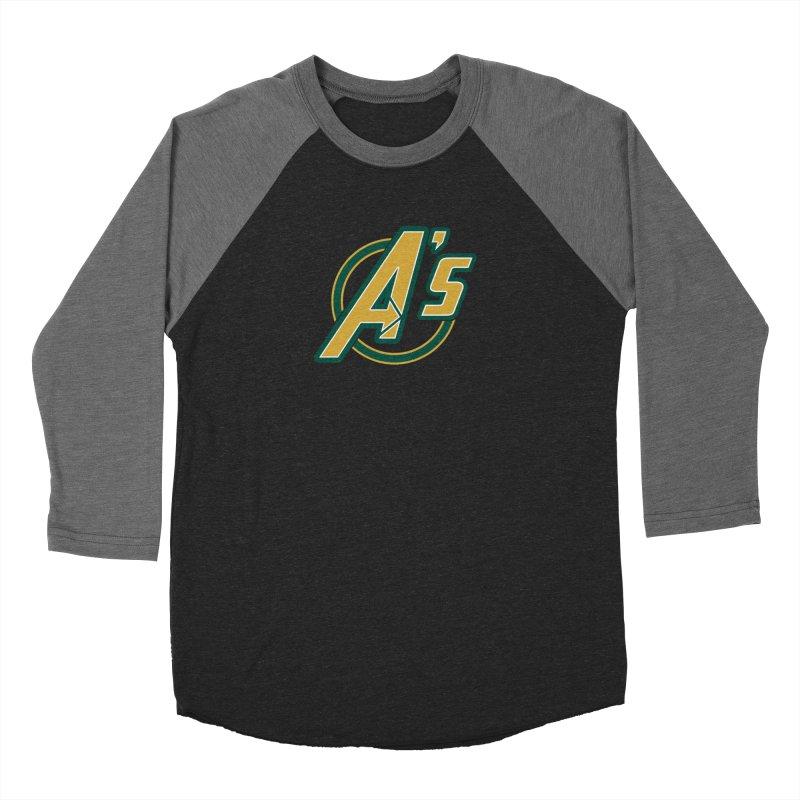 The Earth's Mightiest Team! Men's Baseball Triblend T-Shirt by The Phantom's T-Shirt Shop