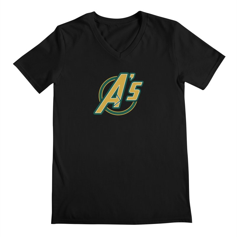 The Earth's Mightiest Team! Men's V-Neck by The Phantom's T-Shirt Shop