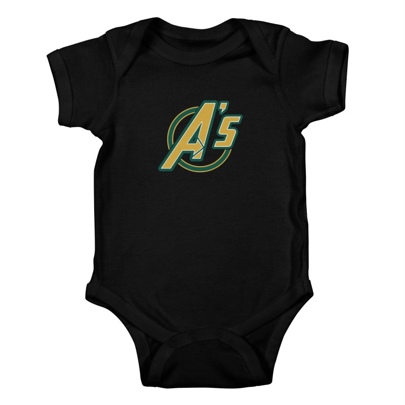 The Earth's Mightiest Team! Kids Baby Bodysuit by The Phantom's T-Shirt Shop