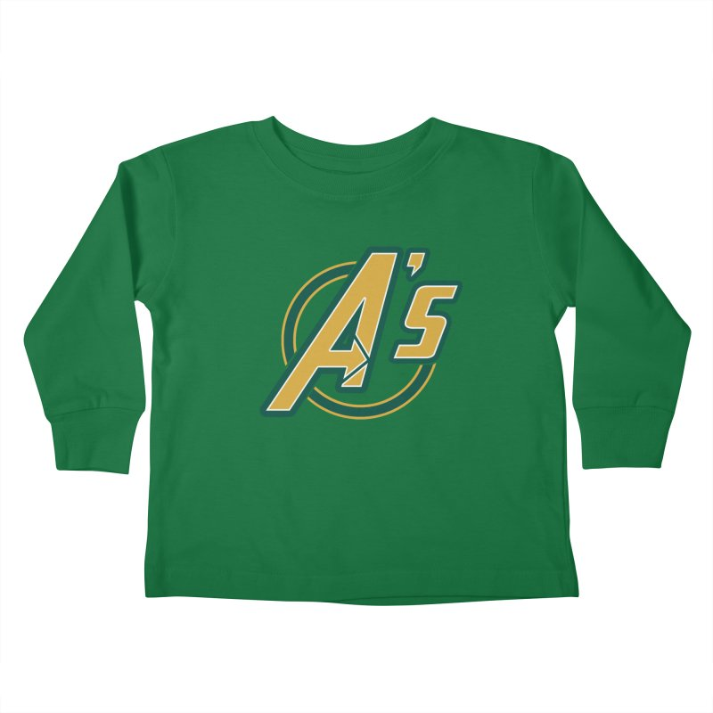 The Earth's Mightiest Team! Kids Toddler Longsleeve T-Shirt by The Phantom's T-Shirt Shop