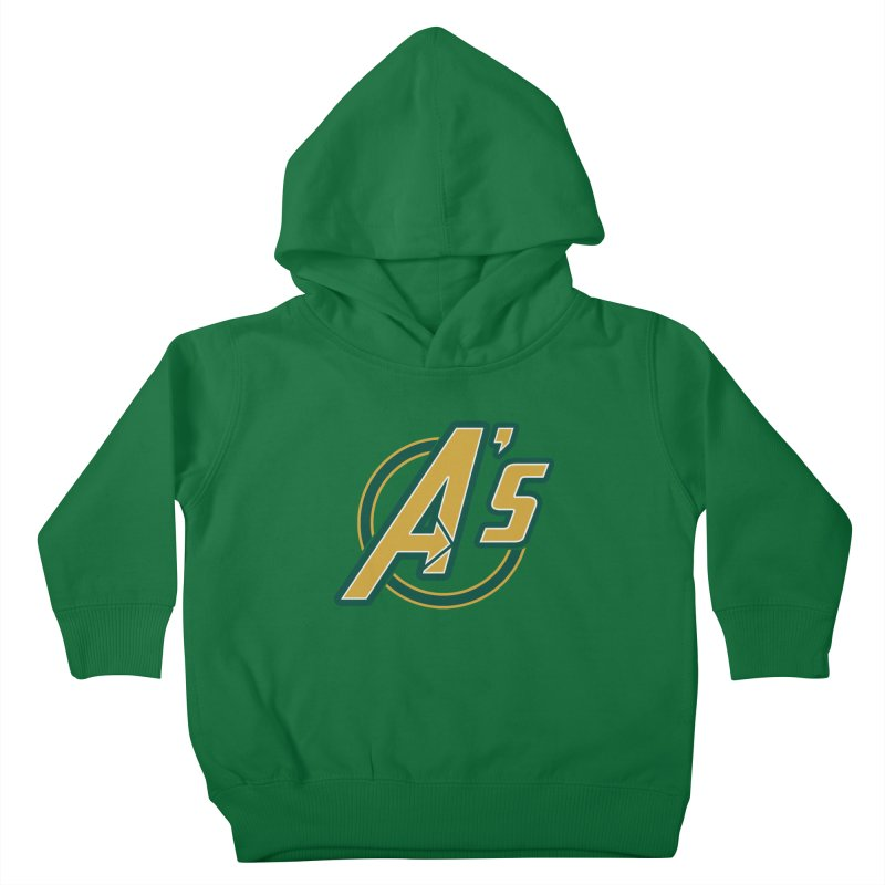 The Earth's Mightiest Team! Kids Toddler Pullover Hoody by The Phantom's T-Shirt Shop