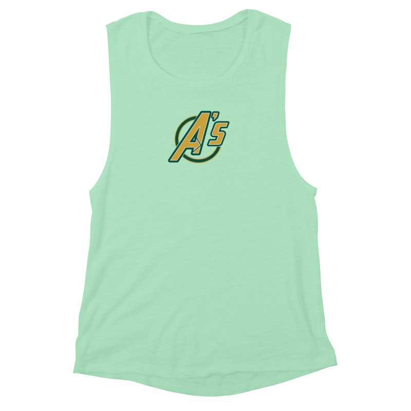 The Earth's Mightiest Team! Women's Muscle Tank by The Phantom's T-Shirt Shop