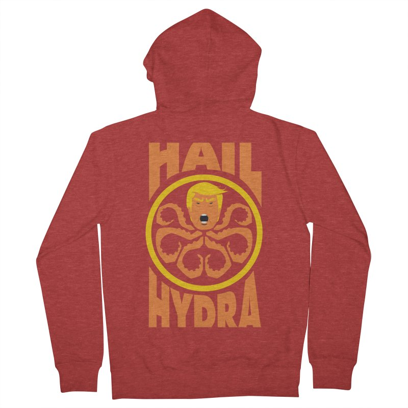 Hail Hydra! Men's Zip-Up Hoody by The Phantom's T-Shirt Shop