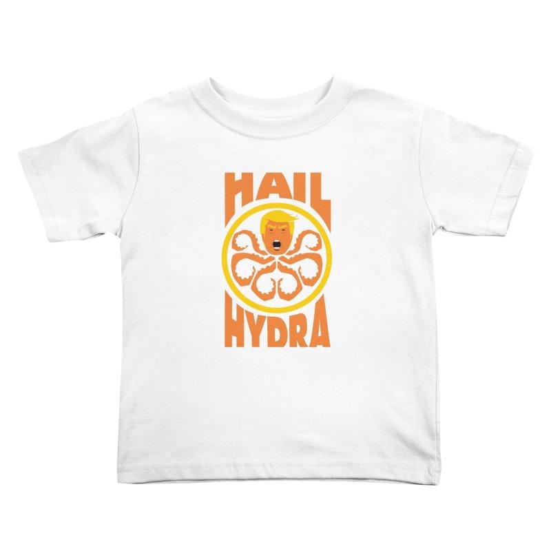 Hail Hydra! Kids Toddler T-Shirt by The Phantom's T-Shirt Shop