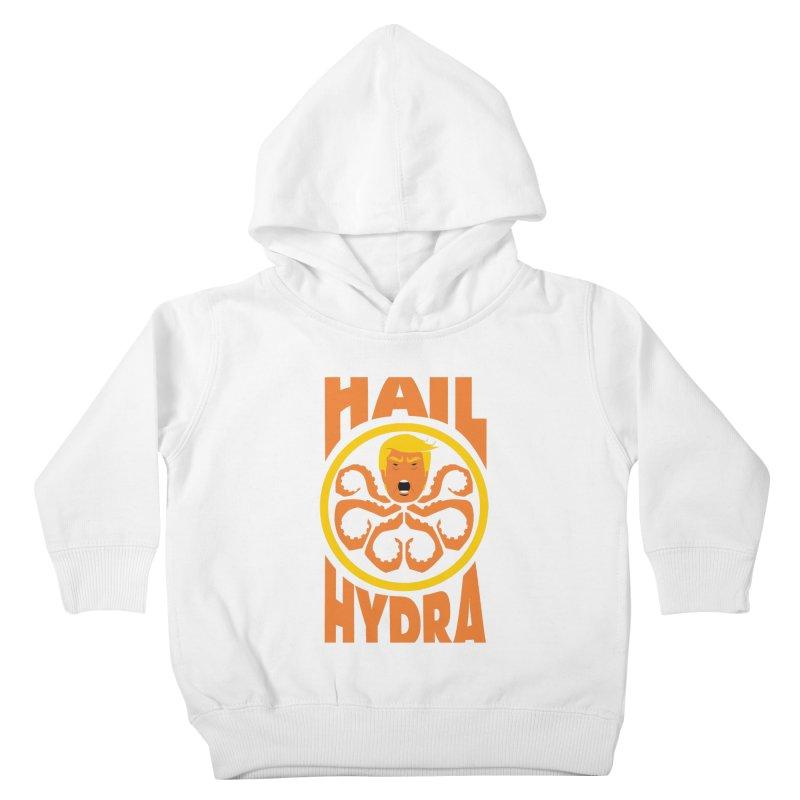 Hail Hydra! Kids Toddler Pullover Hoody by The Phantom's T-Shirt Shop