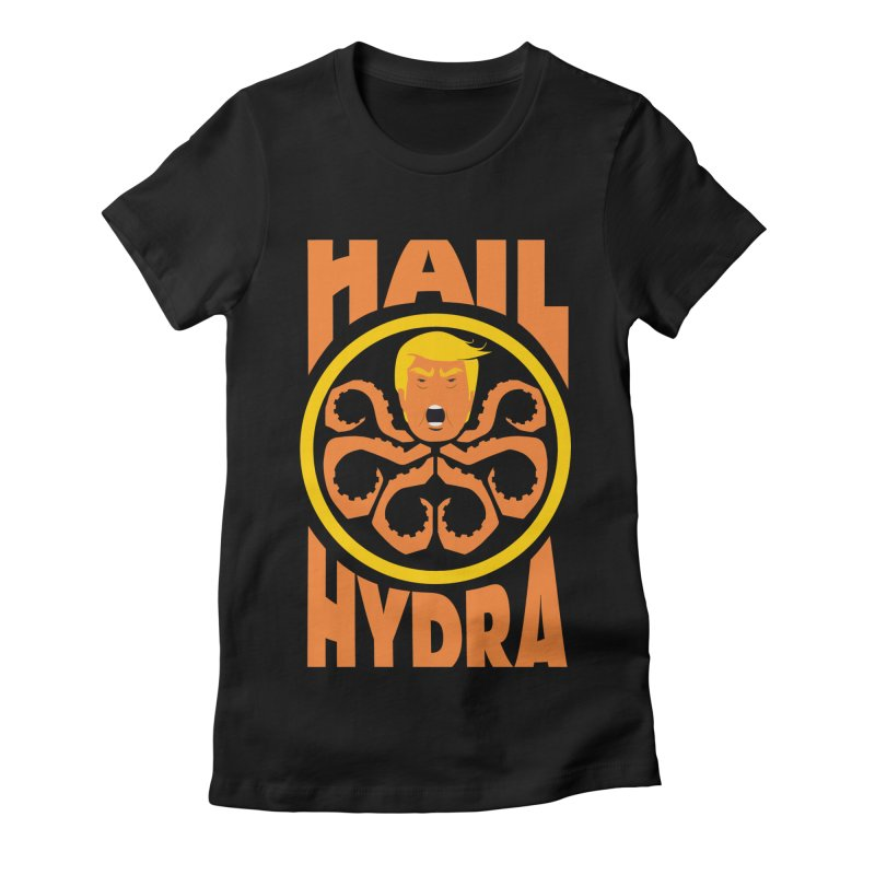 Hail Hydra! Women's Fitted T-Shirt by The Phantom's T-Shirt Shop