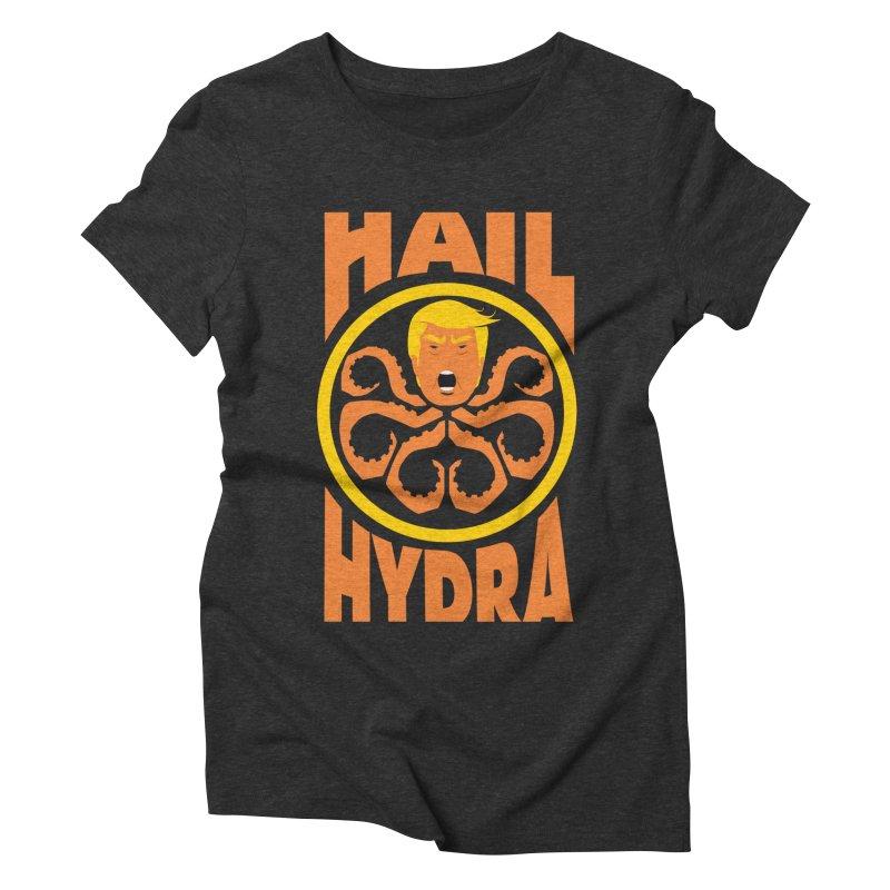 Hail Hydra! Women's Triblend T-Shirt by The Phantom's T-Shirt Shop