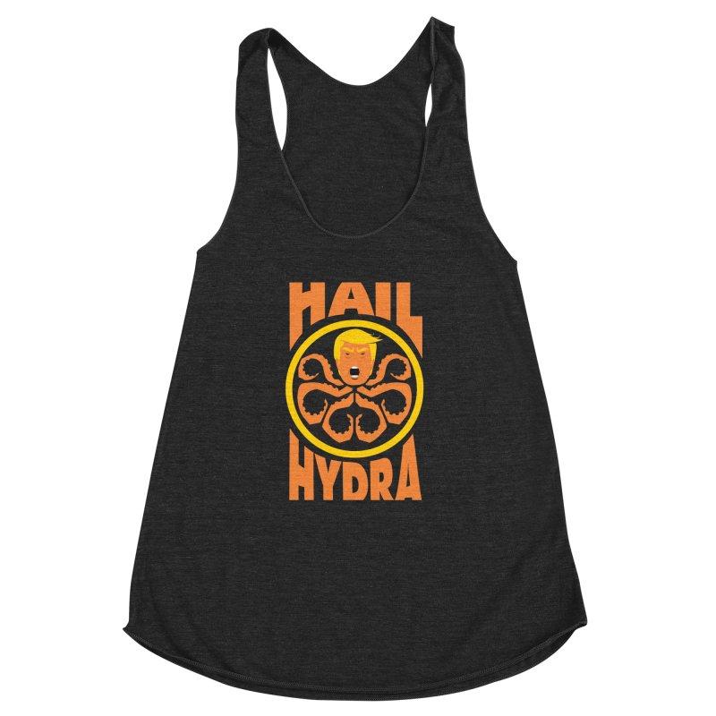 Hail Hydra! Women's Racerback Triblend Tank by The Phantom's T-Shirt Shop