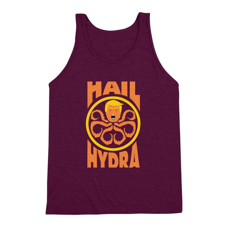 Hail Hydra! Men's Triblend Tank by The Phantom's T-Shirt Shop