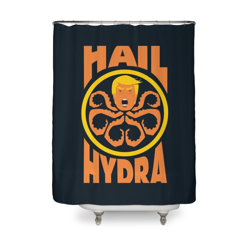Hail Hydra! Home Shower Curtain by The Phantom's T-Shirt Shop