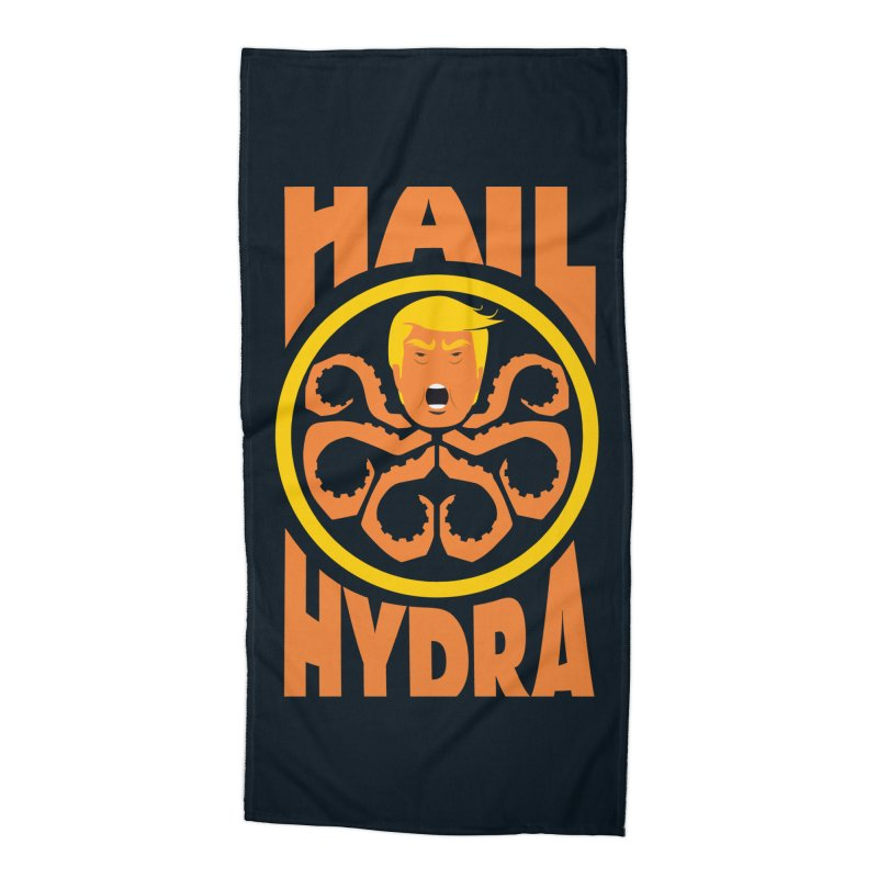 Hail Hydra! Accessories Beach Towel by The Phantom's T-Shirt Shop