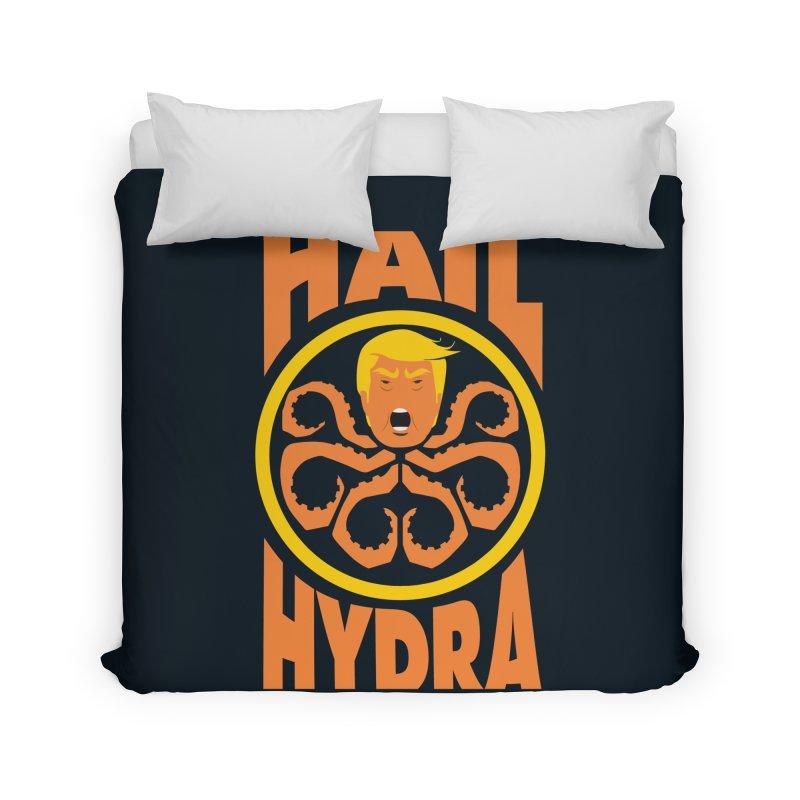Hail Hydra! Home Duvet by The Phantom's T-Shirt Shop