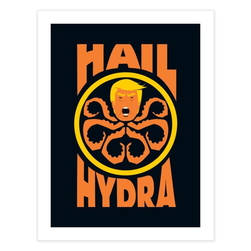 Hail Hydra! Home Fine Art Print by The Phantom's T-Shirt Shop