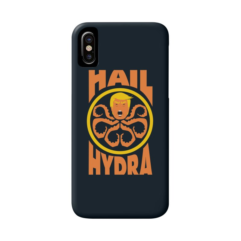 Hail Hydra! Accessories Phone Case by The Phantom's T-Shirt Shop