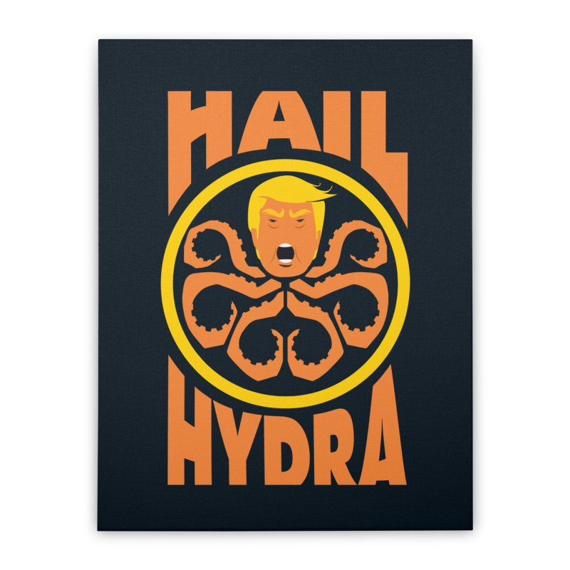 Hail Hydra! Home Stretched Canvas by The Phantom's T-Shirt Shop