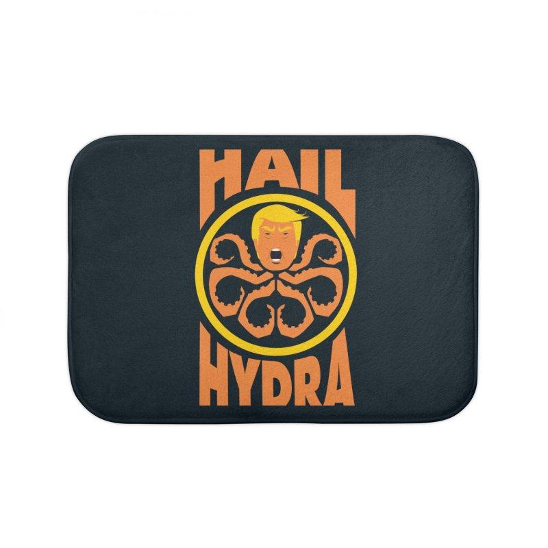 Hail Hydra! Home Bath Mat by The Phantom's T-Shirt Shop