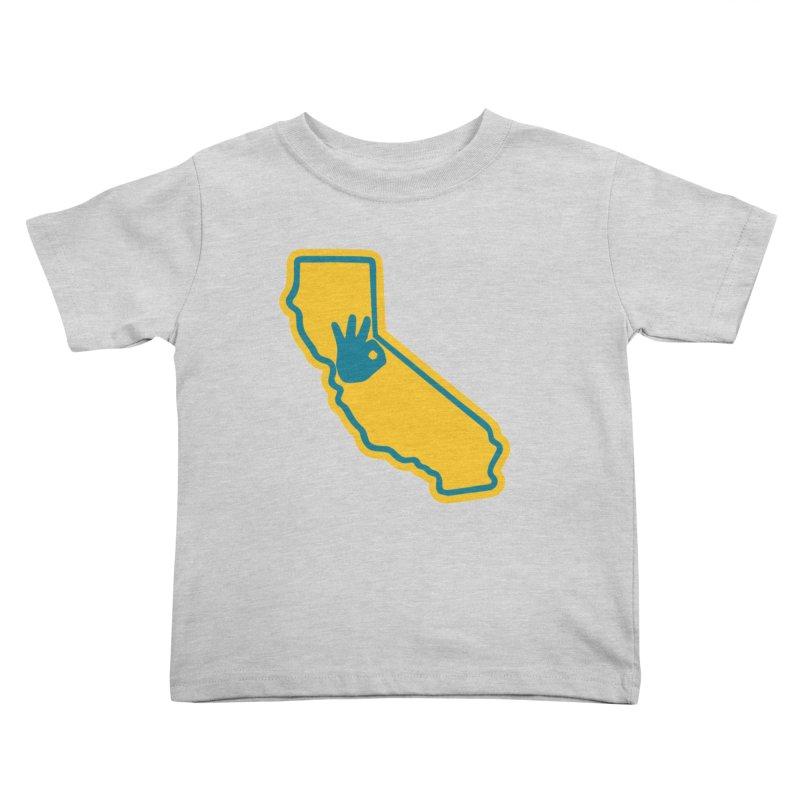 California Dub Love Kids Toddler T-Shirt by The Phantom's T-Shirt Shop