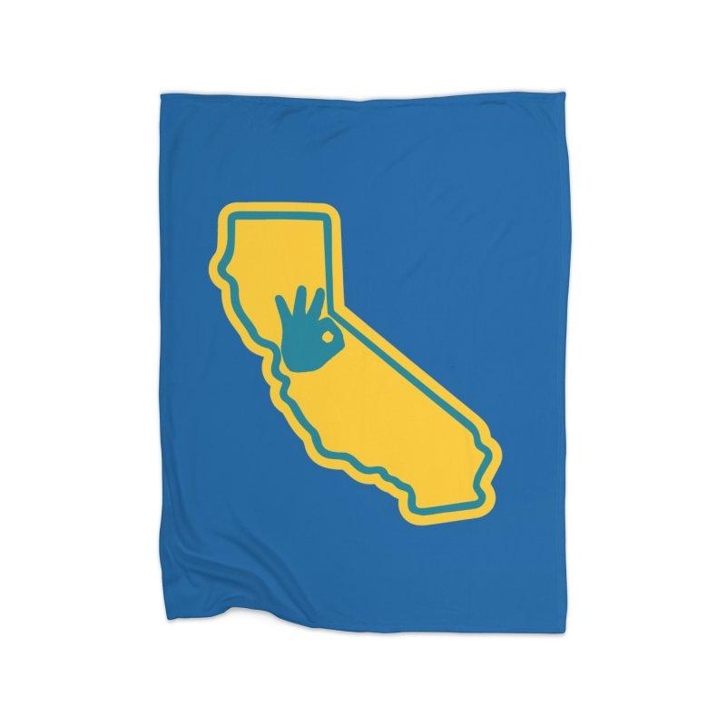 California Dub Love Home Blanket by The Phantom's T-Shirt Shop